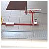 Zariadenie na zisťovanie vôle prednej nápravy PT 20101 / PT 20101 N